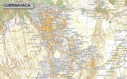 mapa topogr fico de morelos m xico para gps garmin